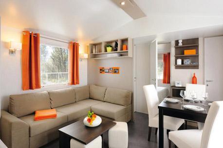 le mobil home o 39 hara 830 convivial confortable et petit prix en vend e. Black Bedroom Furniture Sets. Home Design Ideas