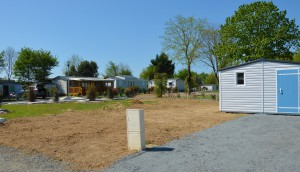 Emplacement pour mobil home neuf en vendee