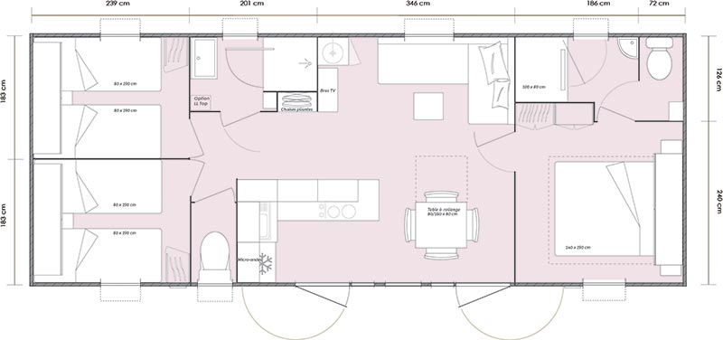 Mobil-home Mobil-home 1064