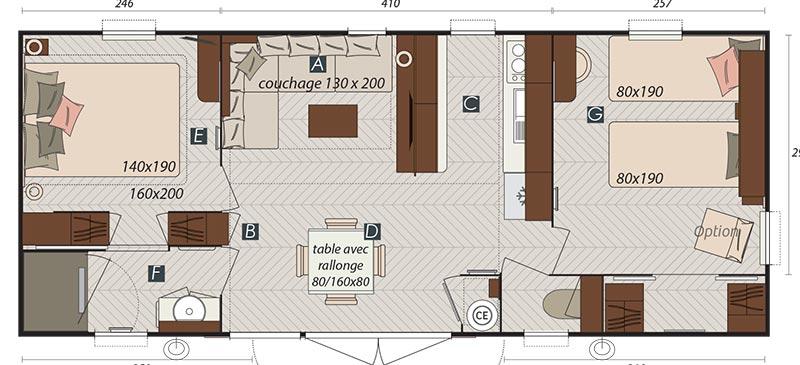 Mobil-home Mobil-home Hampton