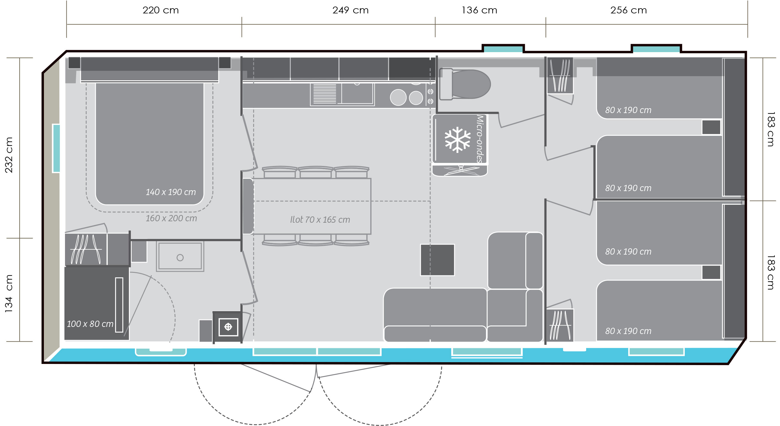 Mobil-home Mobil-home 884